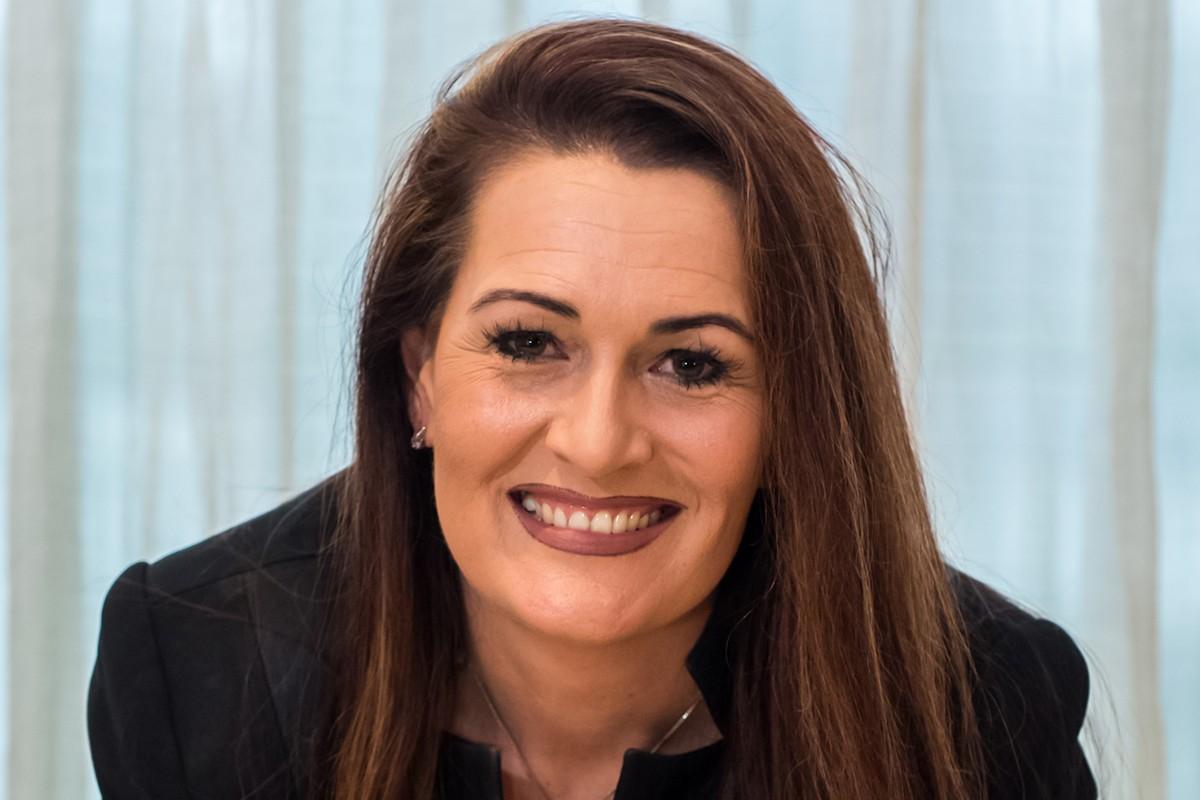 Photographic portrait of  Lauren Hall