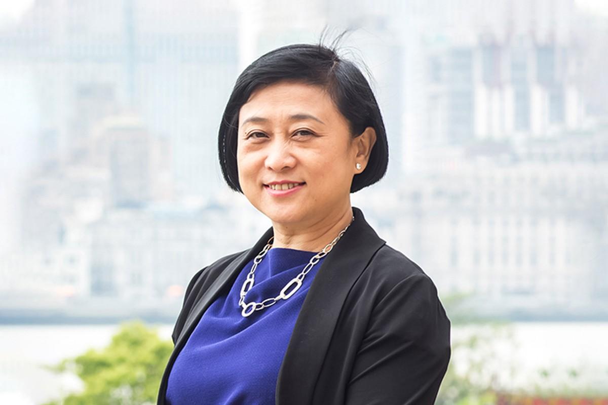 Photographic portrait of Michelle Hu