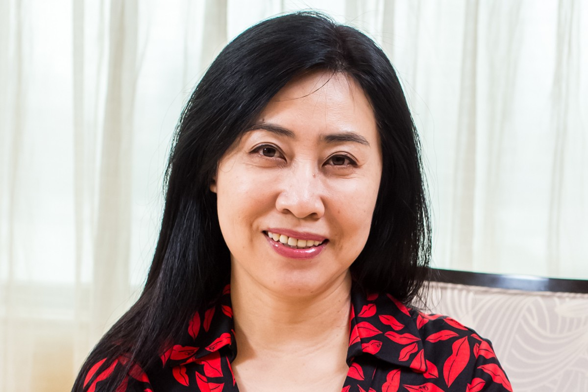 Photographic portrait of Xiuru Nan