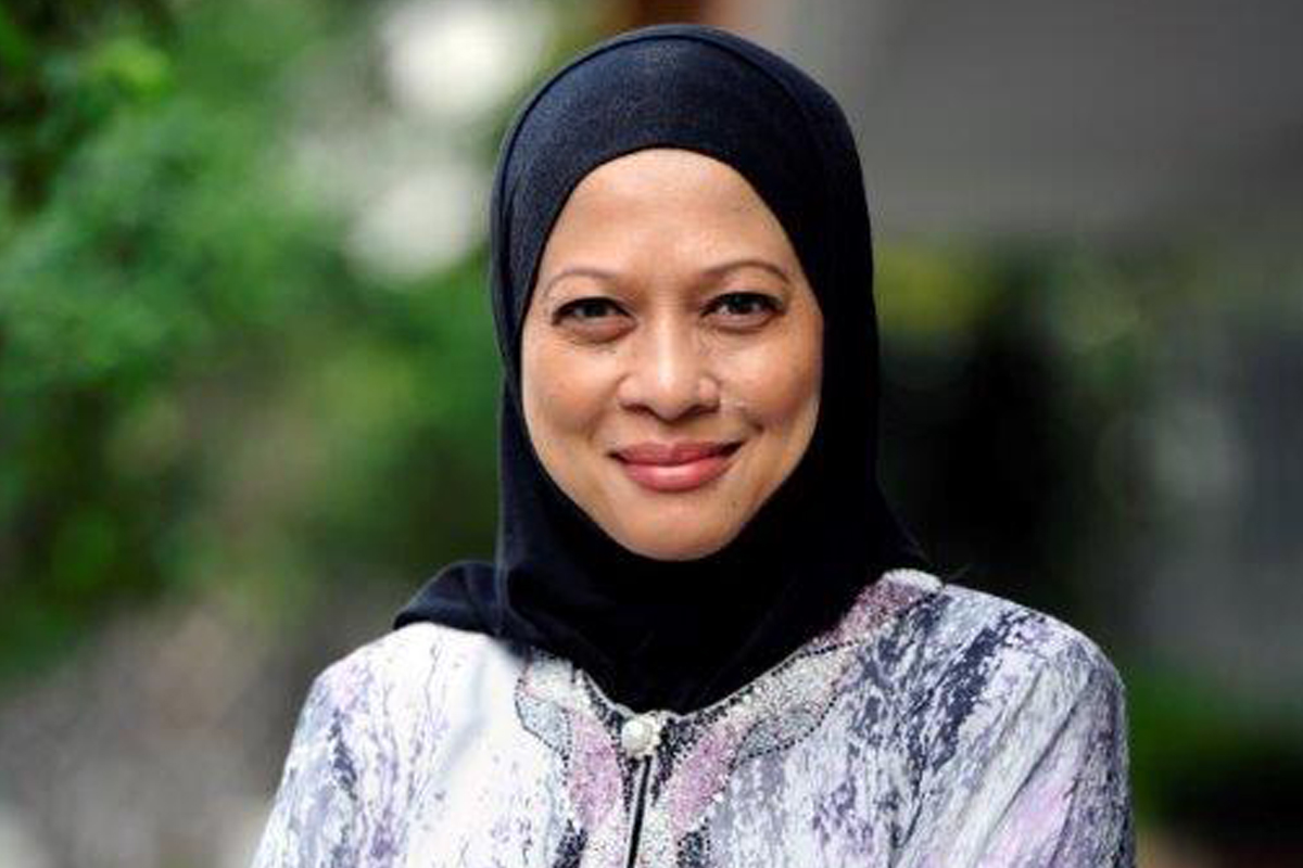 Photographic portrait of Dato' Hazimah Zainuddin