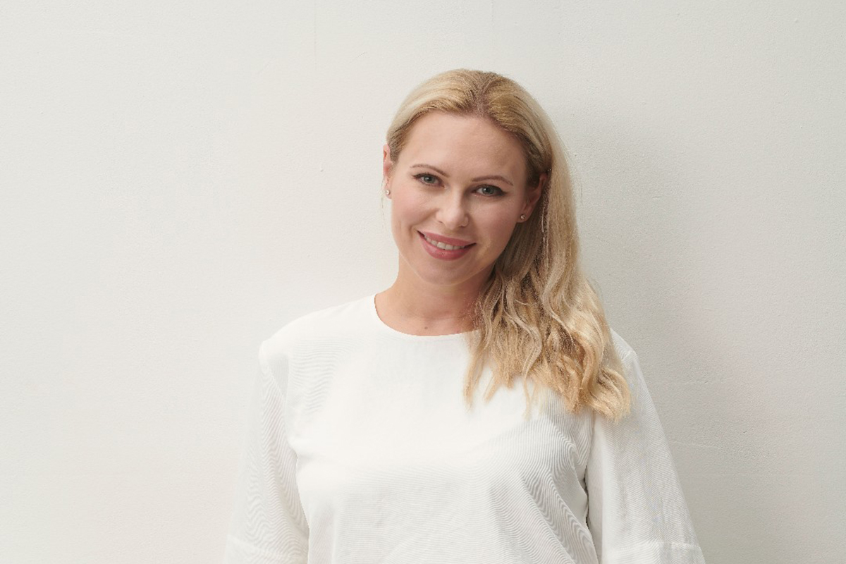 Photographic portrait of Kathrin Hamm
