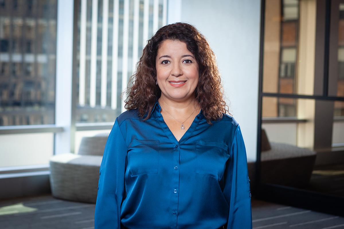 Photographic portrait of Socorro Vazquez