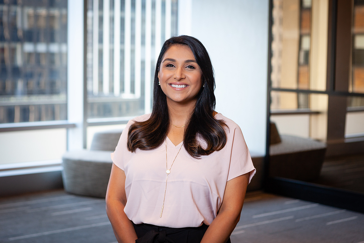 Photographic portrait of Suneera Madhani