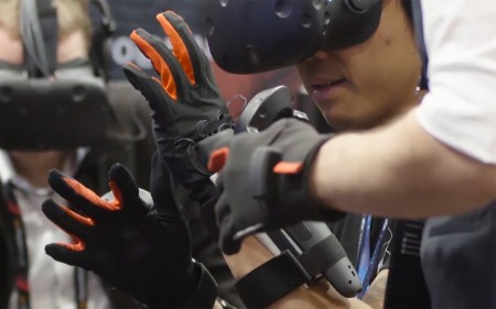 Man manus virtual reality glove