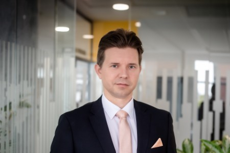 Photographic portrait of dr. Dániel Bajusz