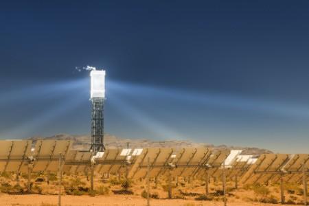 Solar thermal generation