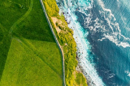 Sustainability coastline