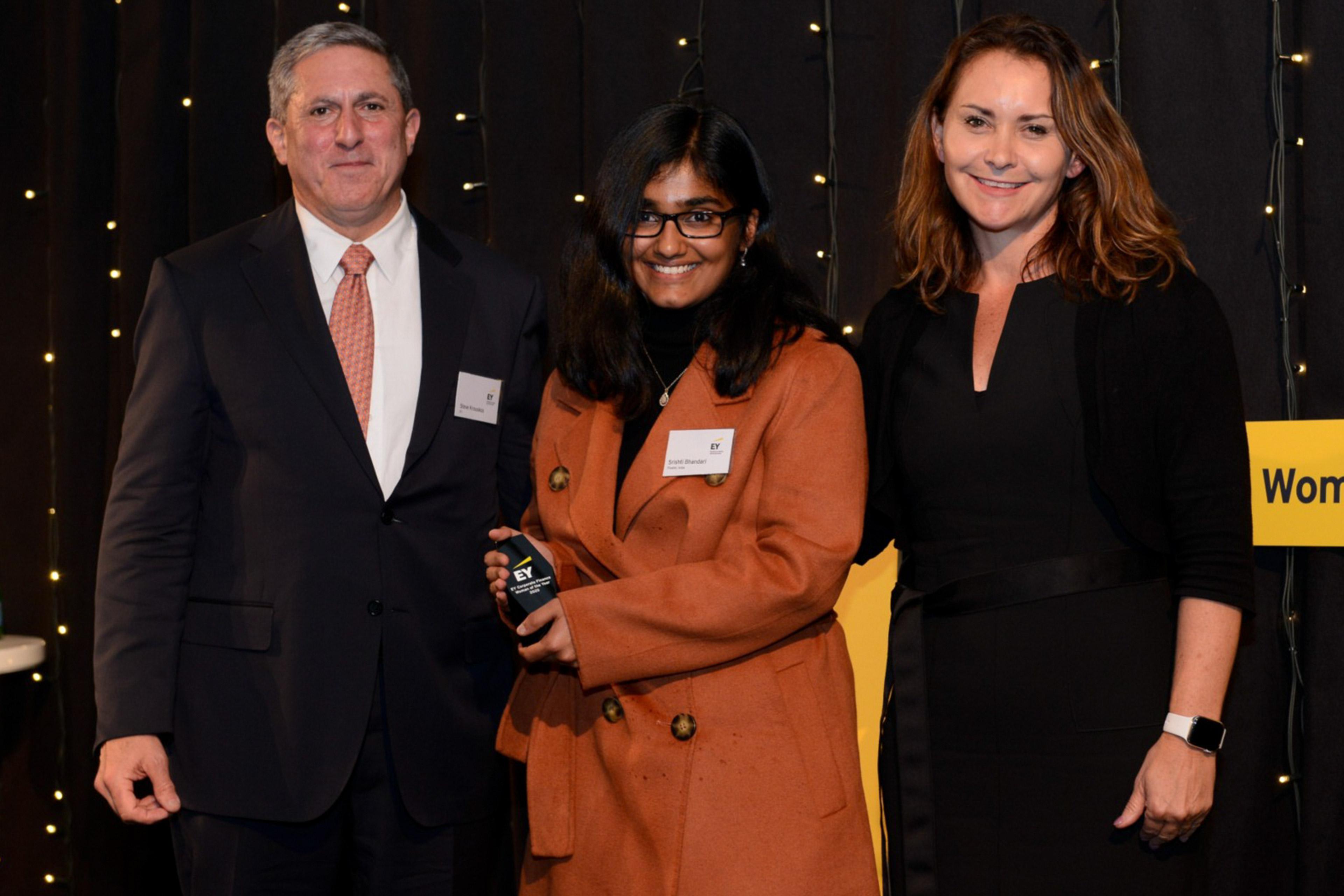 Corporate finance woman of the year winner 2020