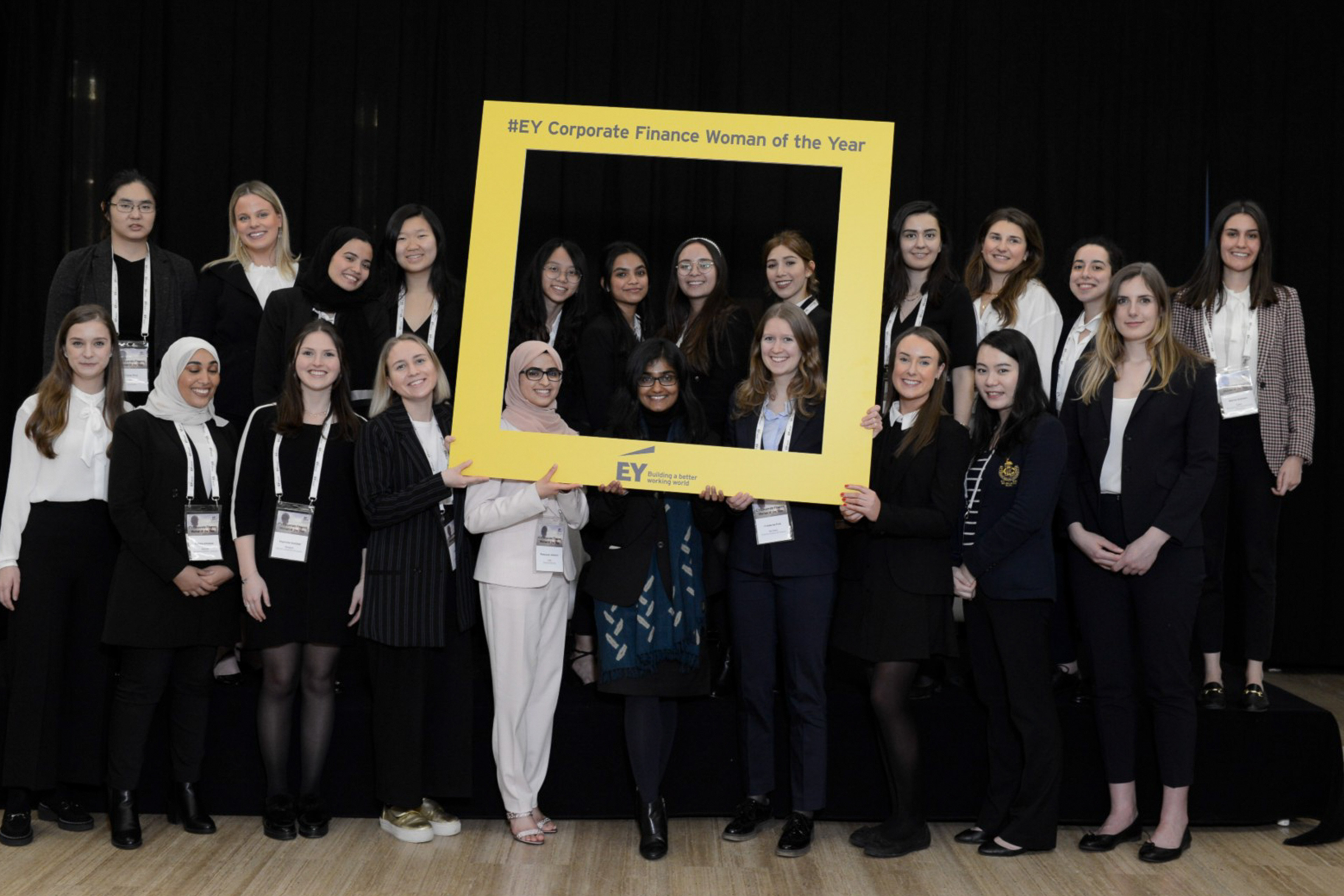 EY corporate Finance woman of the year