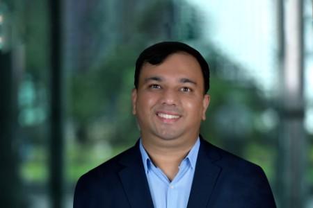 Photographic portrait of Kunal Ghatak