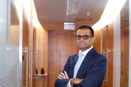 A photographic portrait of Naveen Tiwari