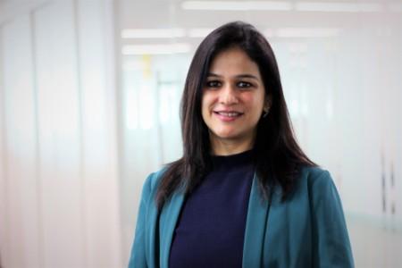 Photographic portrait of Radhika Saigal