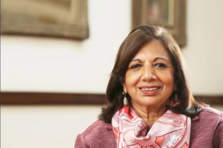 WEOY winner Dr. Kiran Mazumdar-Shaw
