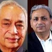 Vineet Nayyar and CP Gurnani