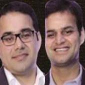 Kunal Bahl and Rohit Bansal
