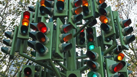 Multiple traffic lights