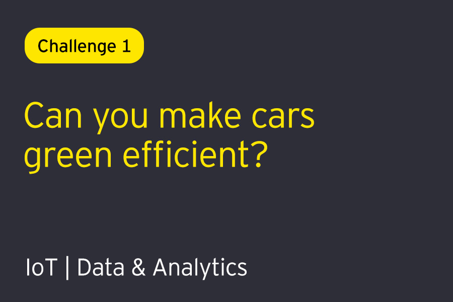 Challenge 1: Can you solve to make cars green-efficient?