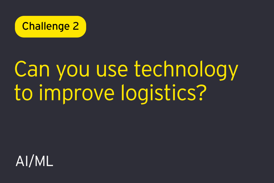 Challenge 2: Can you solve to improve logistics?