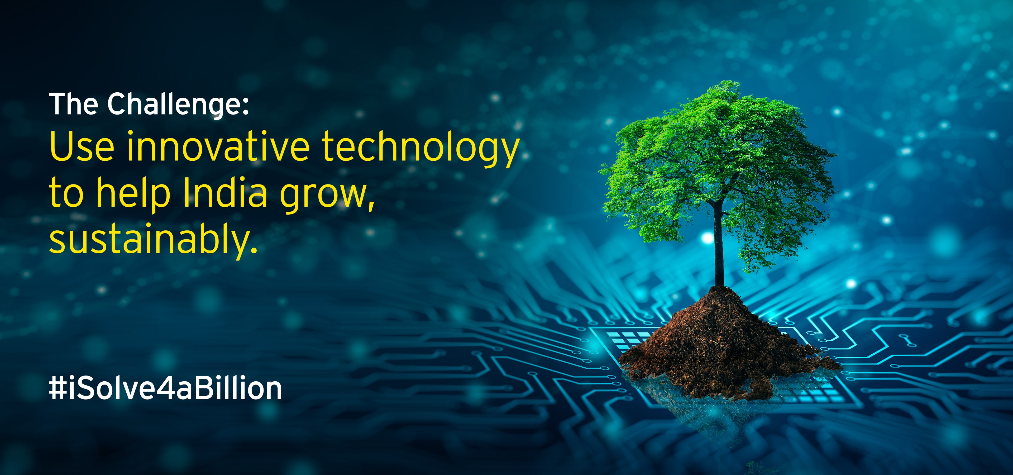 Challenge: Use innovative technology to help India grow, sustainably
