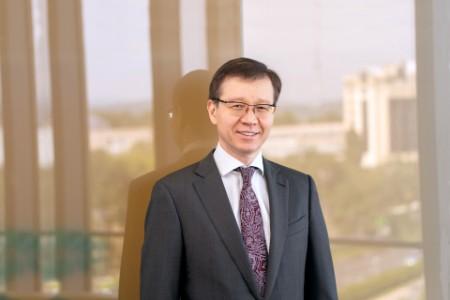 Photographic portrait of Erlan Dosymbekov