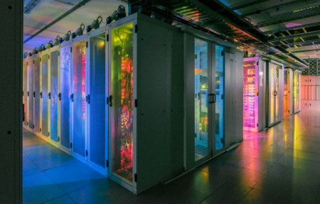 corridors in data center