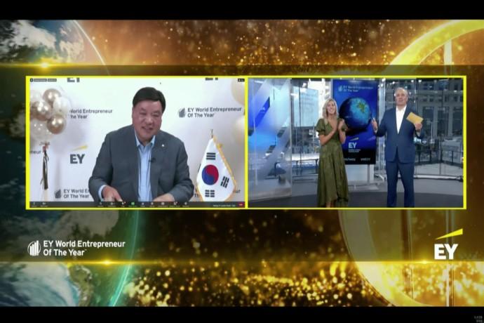 JungJin SEO from South Korea named EY World Entrepreneur Of The Year 2021