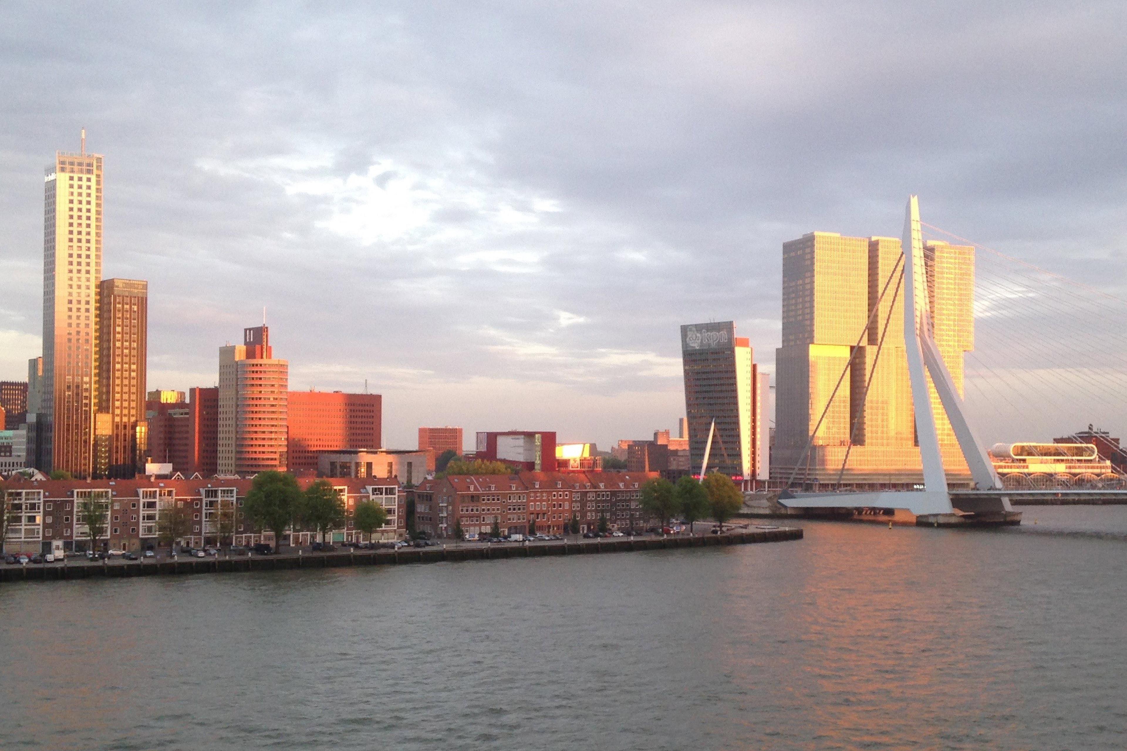 Rotterdam - city view