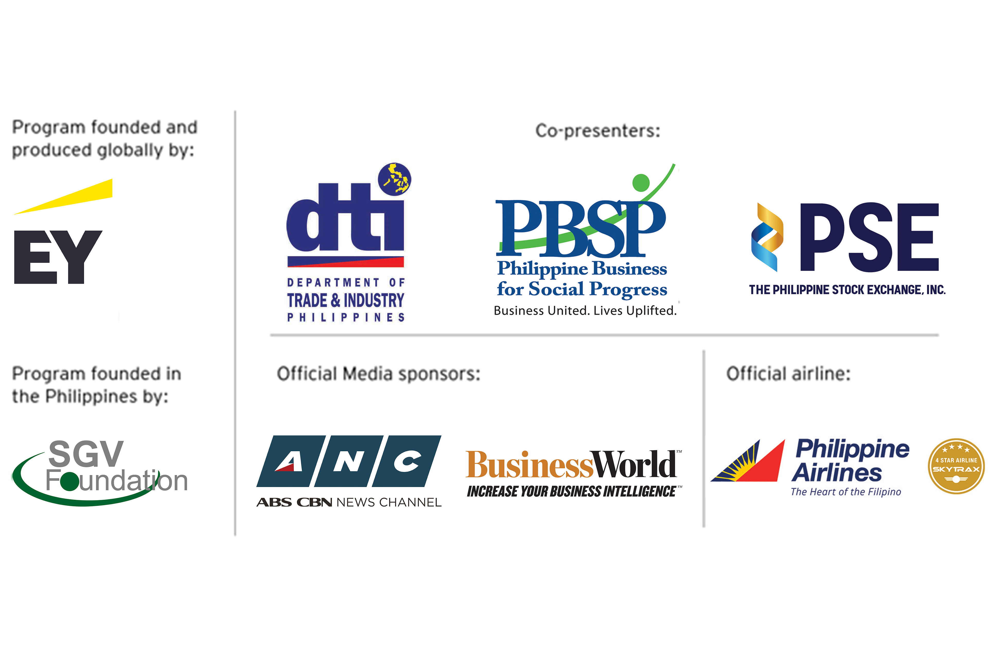Sponsors and co-presenters
