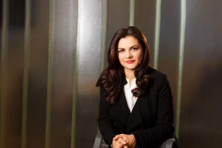 Photographic portrait of Florența Birhală