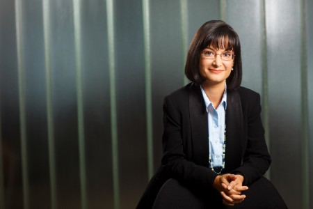 Photographic portrait of Miruna Enache