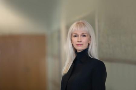 Photographic portrait of Elena Egorova