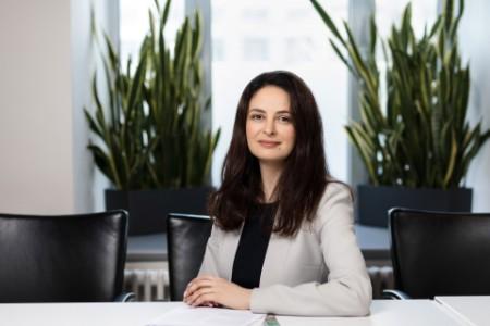 Photographic portrait of Irina Bykhovskaya