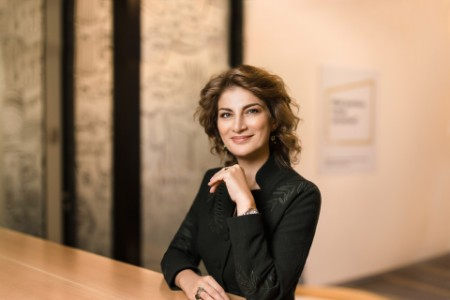 Photographic portrait of Sophia Azizian