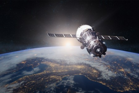 planet earth spacecraft launch into space