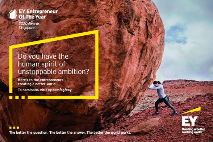 Nominations open for the 19th EY Entrepreneur Of The Year™ 2020 awards in Singapore