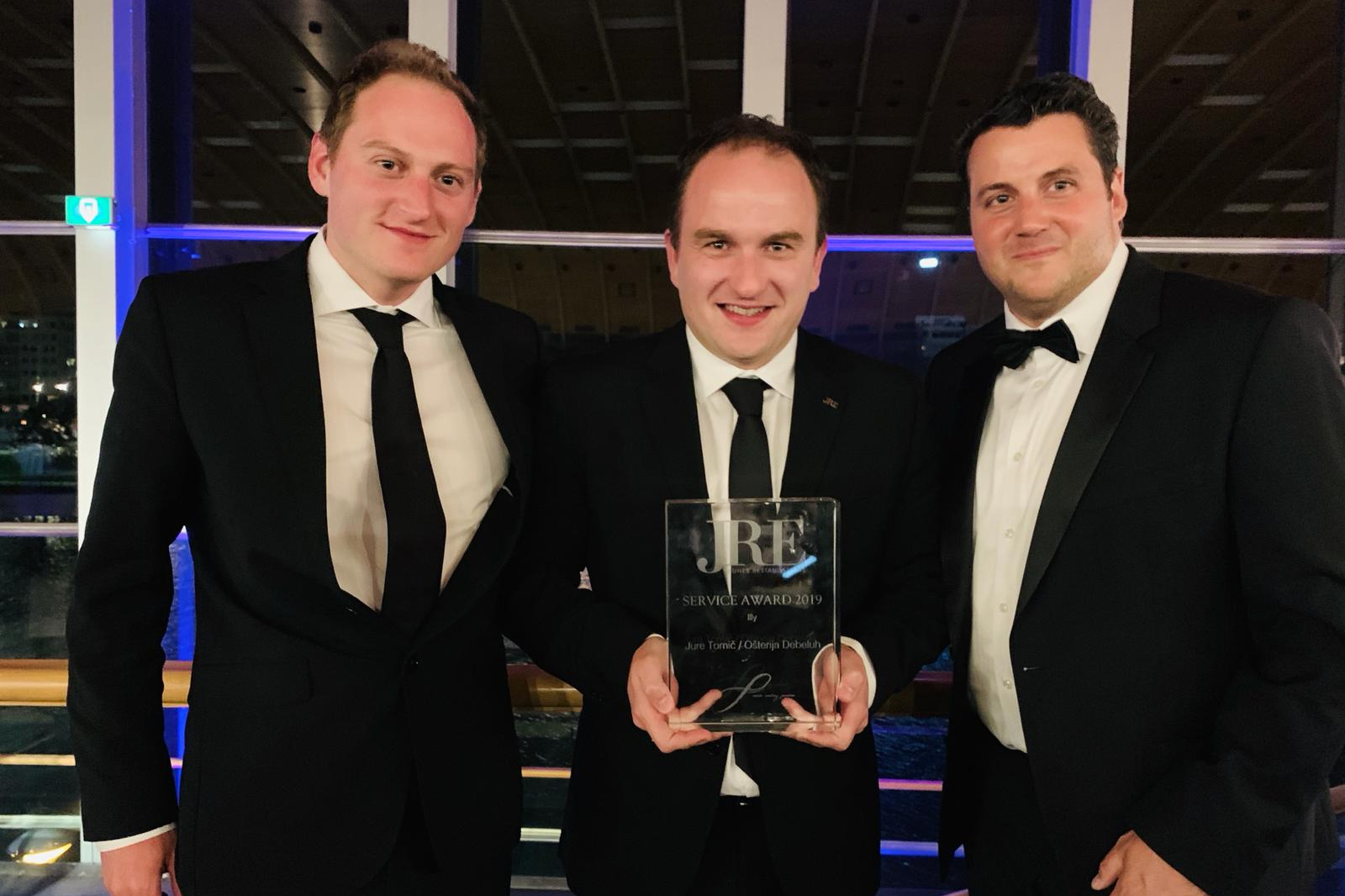 JRE Best Service Award 2019