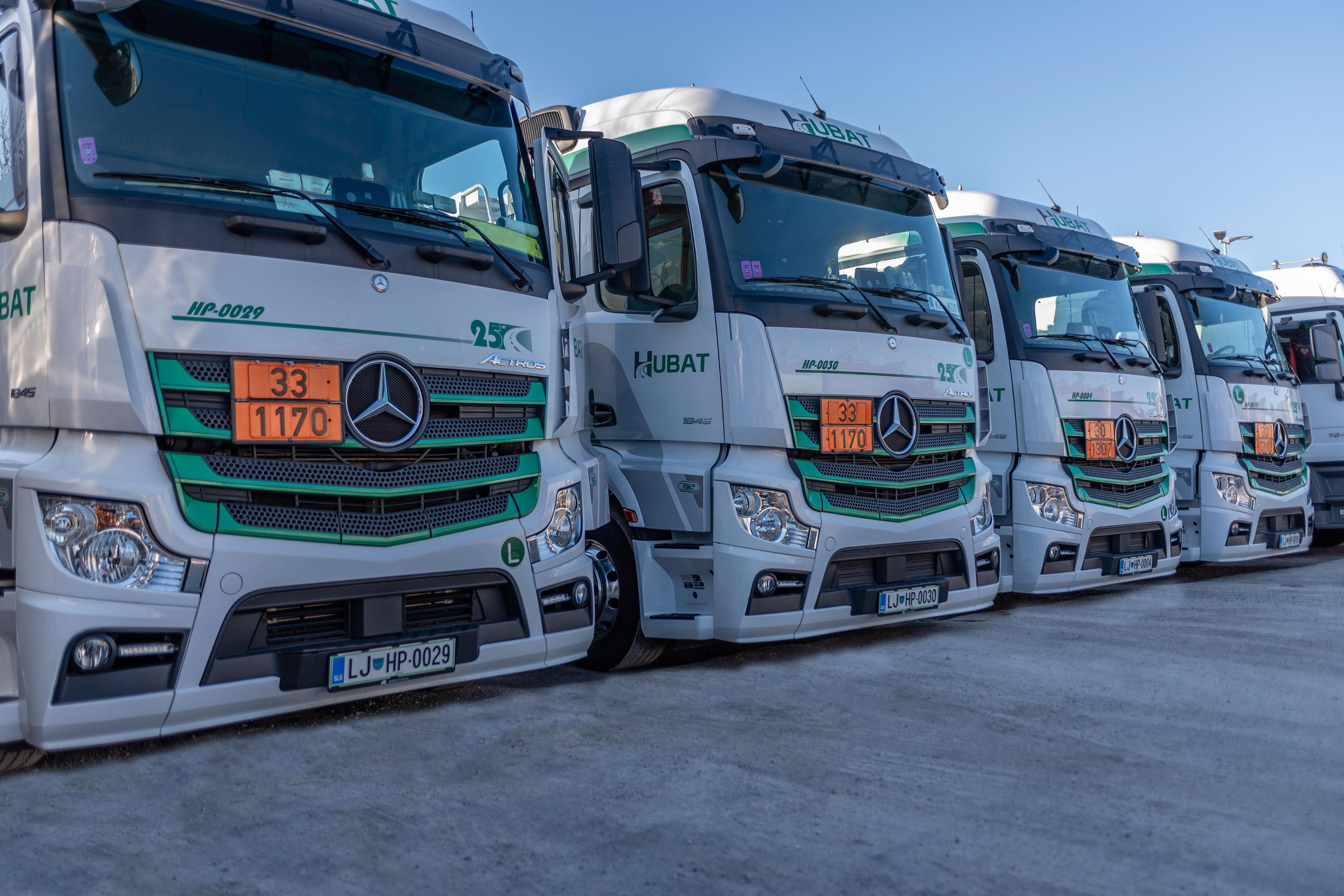 So lastniki 32 tovornjakov in imajo 45 zaposlenih