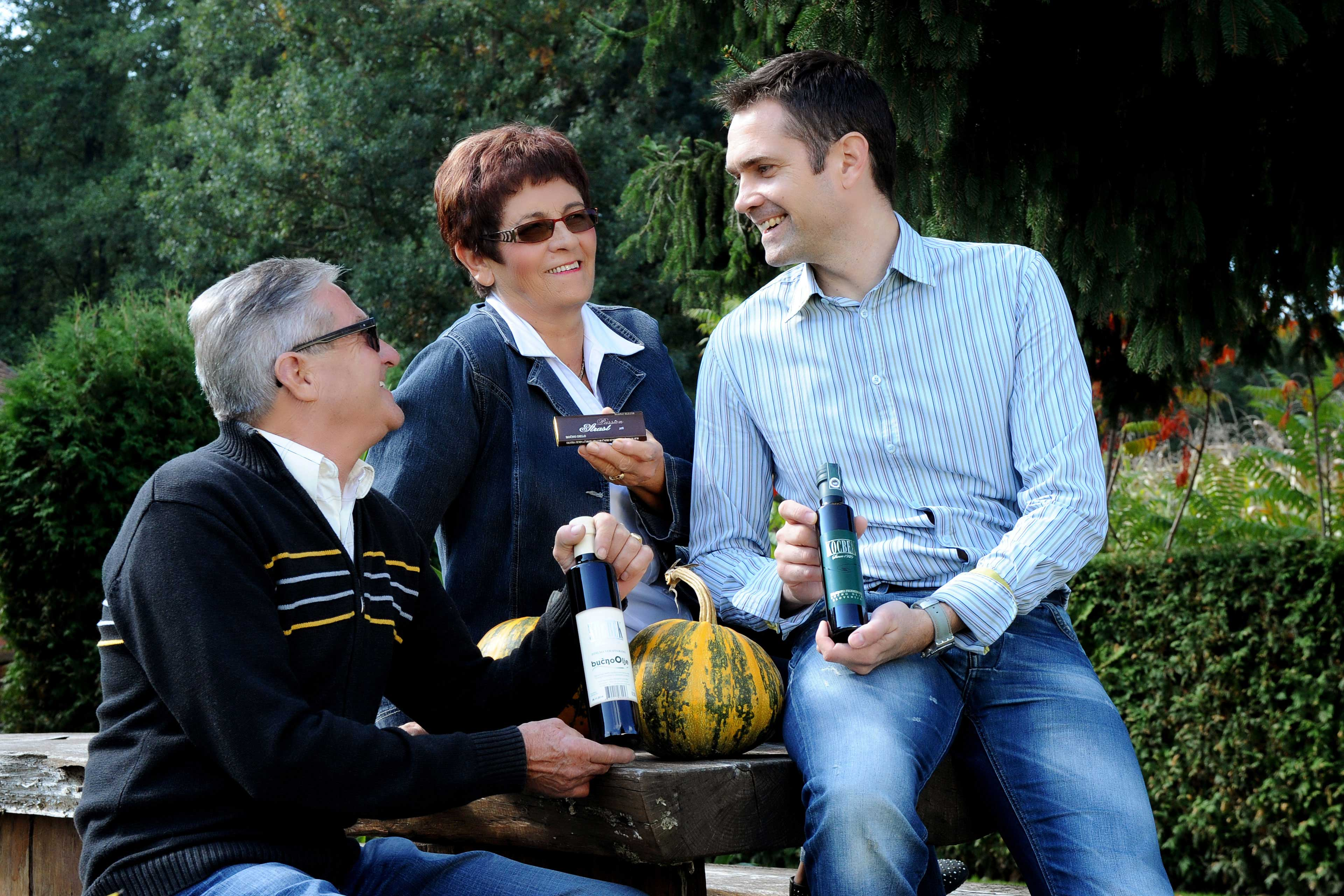 Viktorija Lazar, Supervisor, co-owner and wife of Agromehanika founder Friderik Lazar, Franc Selak, Supervisor and co-owner, Janez Pušavec, Supervisor and co-owner of Agromehanika d. d.