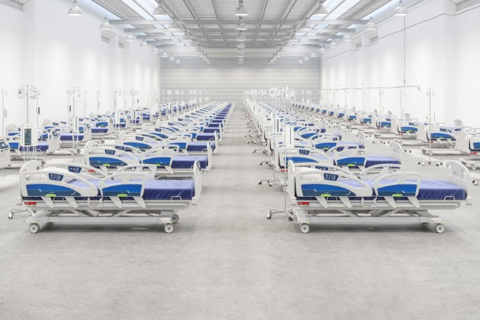 How EY collaborated with the NHS to set up a new field hospital
