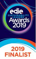 edie Sustainability Leaders Awards 2019 finalist