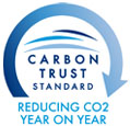 Carbon Trust Standard: Reducing CO2 year on year