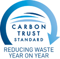 Carbon Trust Standard: Reducing waste year on year