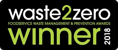 waste2zero foodservice waste management and prevention awards winner 2018