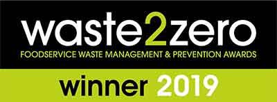waste2zero foodservice waste management and prevention awards winner 2019