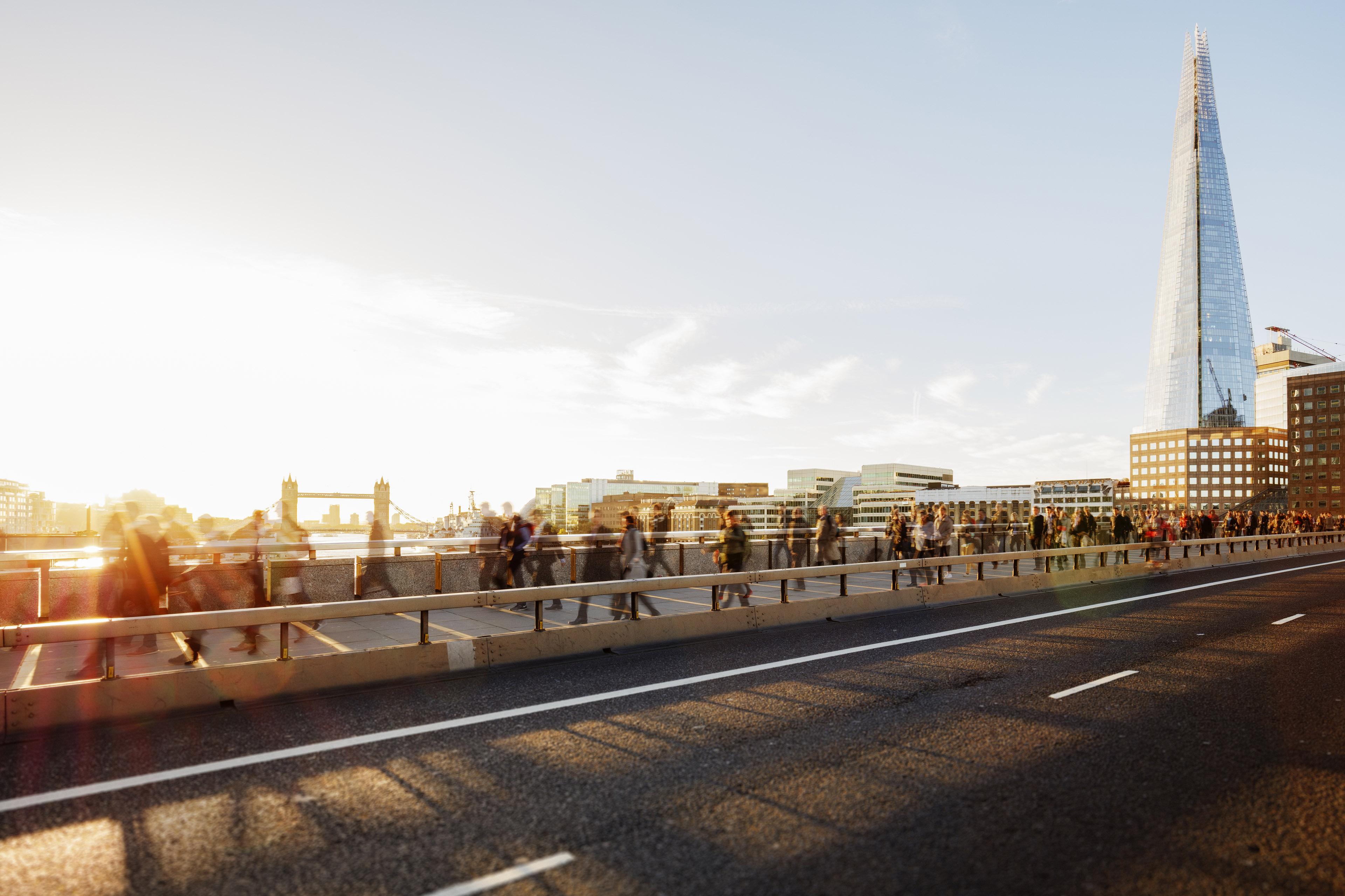 EY - Walkers on London Bridge