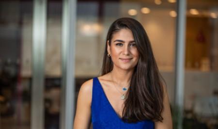 Photographic portrait of Aynur Taskan