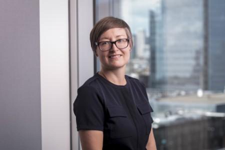 Photographic portrait of Claire Spoors