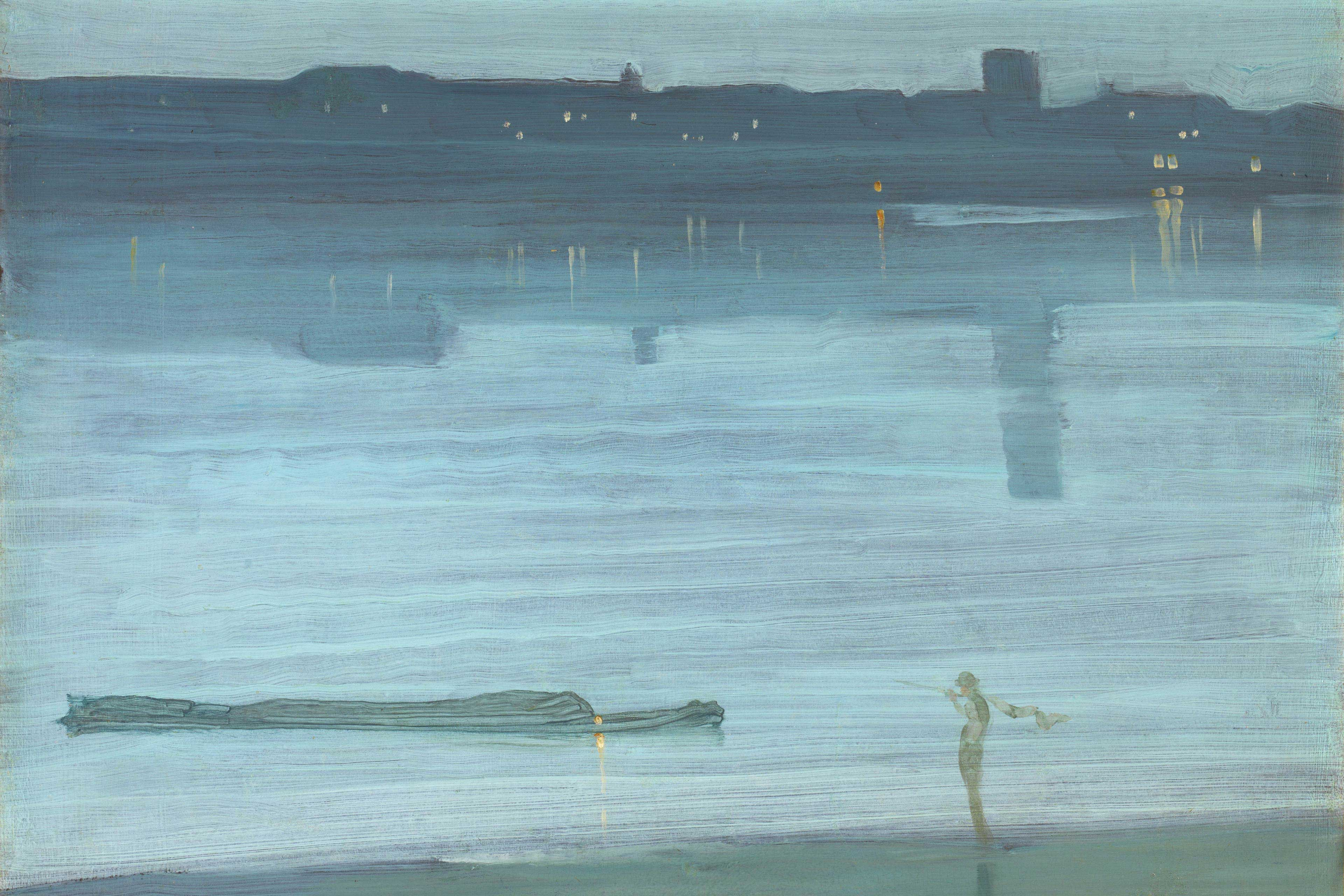 EY Painting by James Abbott McNeill Whistler
