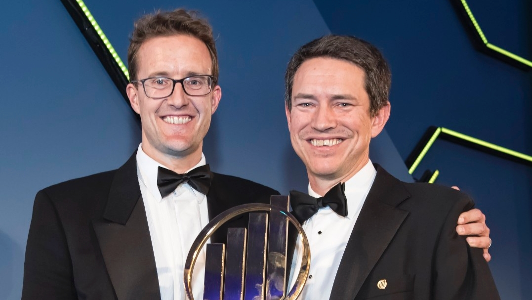 Chris Hulatt & Simon Rogerson, Octopus Group, 2017 UK overall winner