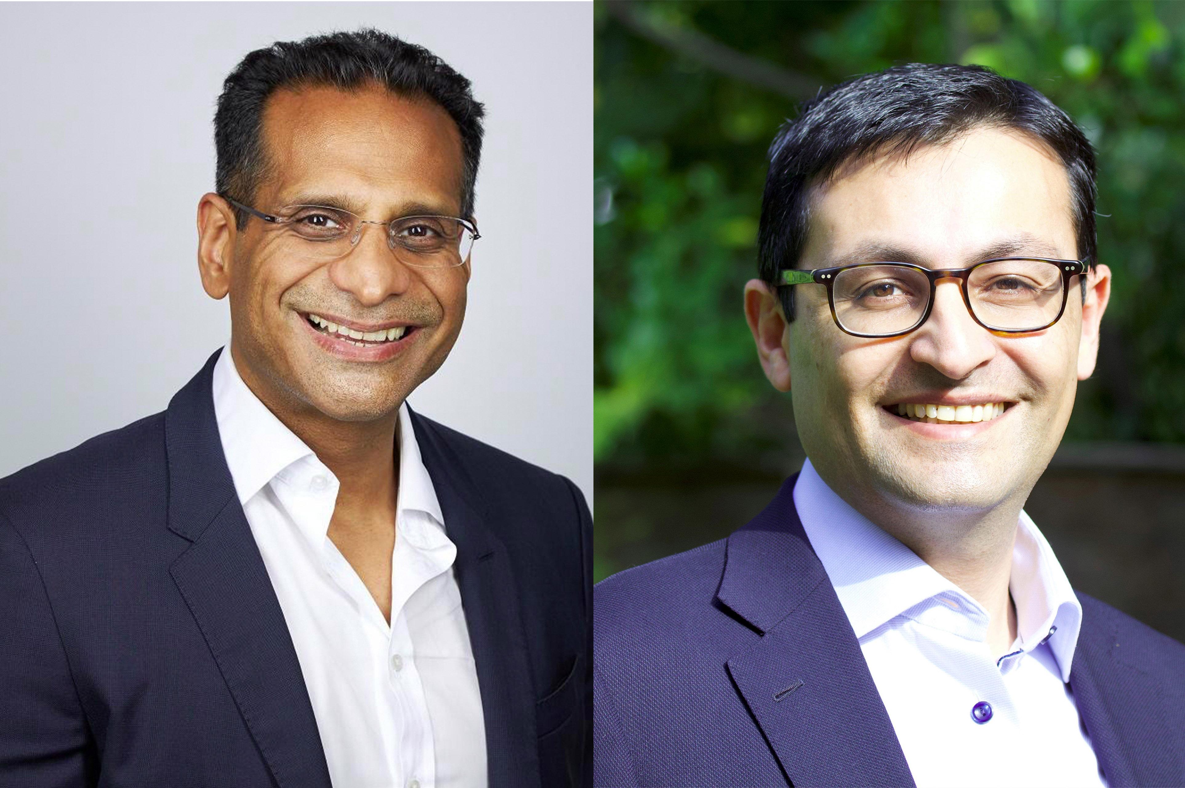 Faisal Lalani and Jamil Mawji